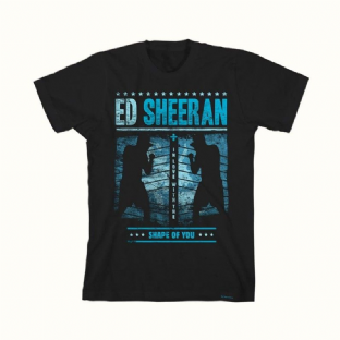 Ed Sheeran T Shirt  (SHAPE OF YOU)